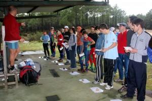 Equipas formadas em plena concentração pré competitiva
